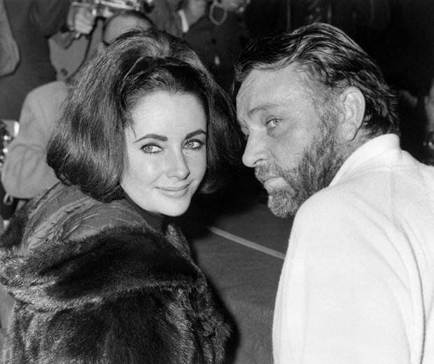 Elizabeth Taylor and Richard Burton. Photo: Getty Images