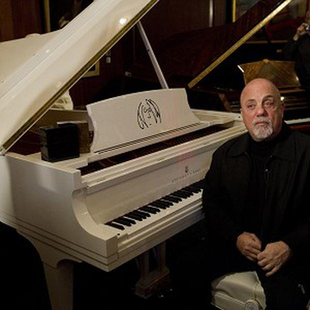 Billy Joel's portrait will hang next to classical piano greats