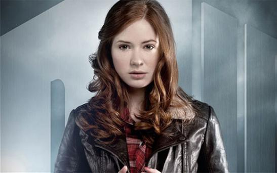 Karen Gillan as Amy Pond in Dr Who Photo: BBC