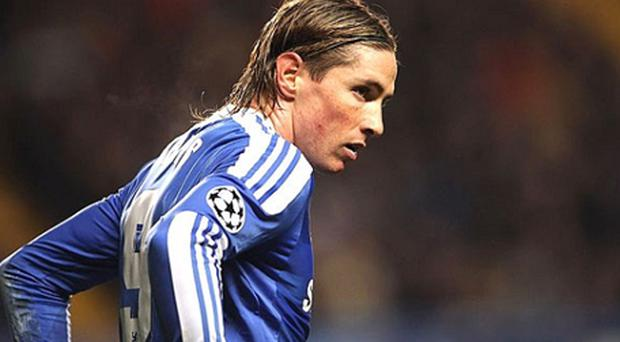 Floating angel: but Chelsea's Fernando Torres will fall to earth like Icarus if he fails to justify his £50 milion price tag in the month before clash with United. Photo: Getty Images