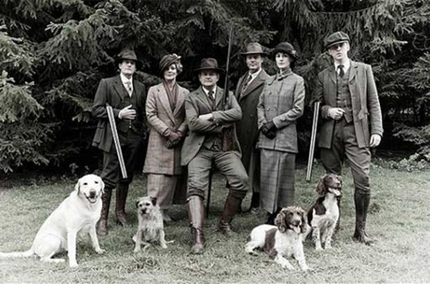 The Downton shooting party