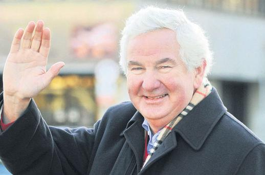 RTE presenter Michael Ryan on his final day of recording 'Nationwide' in Cork