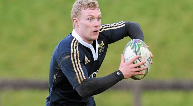 After recovering from injury, outside centre Keith Earls is back in the Munster team for the first time in six weeks