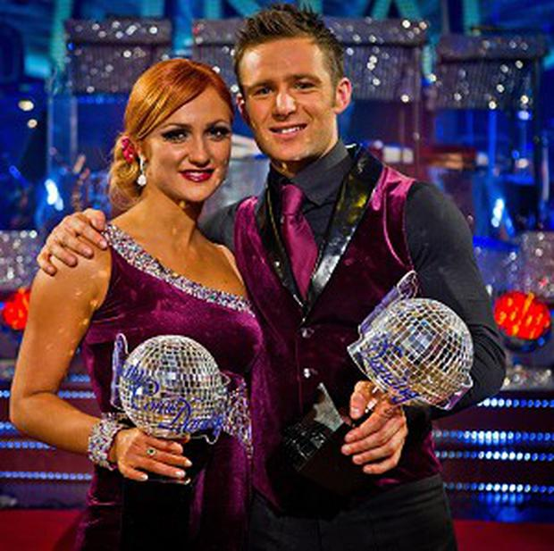 Strictly Come Dancing winners 2011 Aliona Vilani and Harry Judd