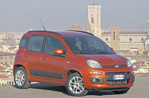 RECESSION-BUSTER: The small, but beautifully formed, Fiat Panda will appeal to those keeping an eye on motoring costs