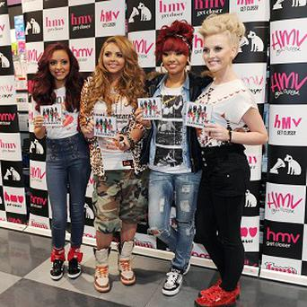 X-Factor winners Little Mix have blasted to the top of the singles charts