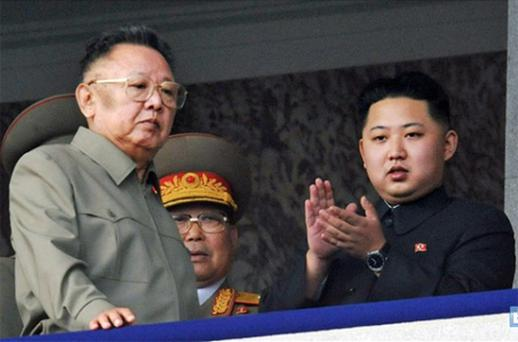 Kim Jong-il's youngest son, Kim Jong-un (right), is likely to be appointed leader to continue the family dynasty. Photo: AP