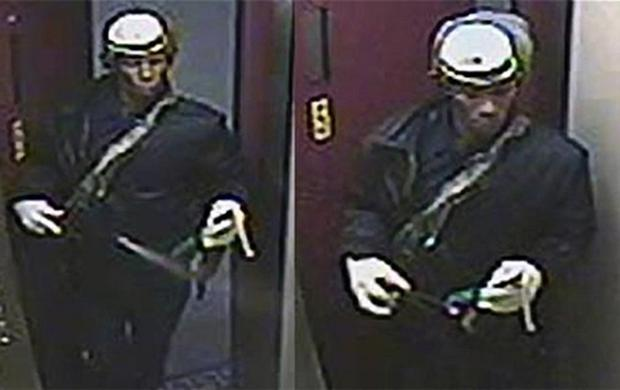 New York police released CCTV footage of the suspect, who has been labelled by US press 'the exterminator'. Photo: AP