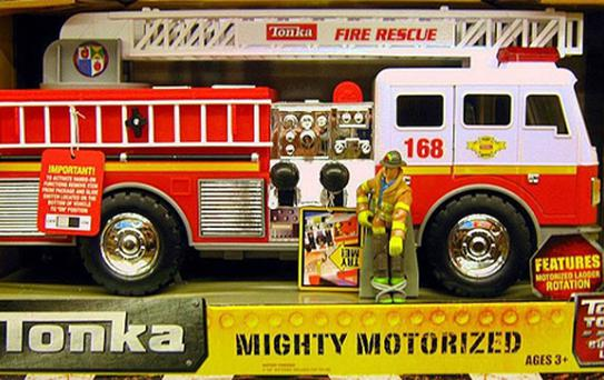 Tonka Mighty Motorised Fire Truck has been tested