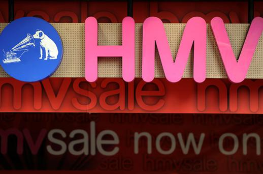 HMV: looking to sell its live music division. Photo: Getty Images