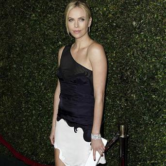 Charlize Theron was thrilled by her Golden Globes nod