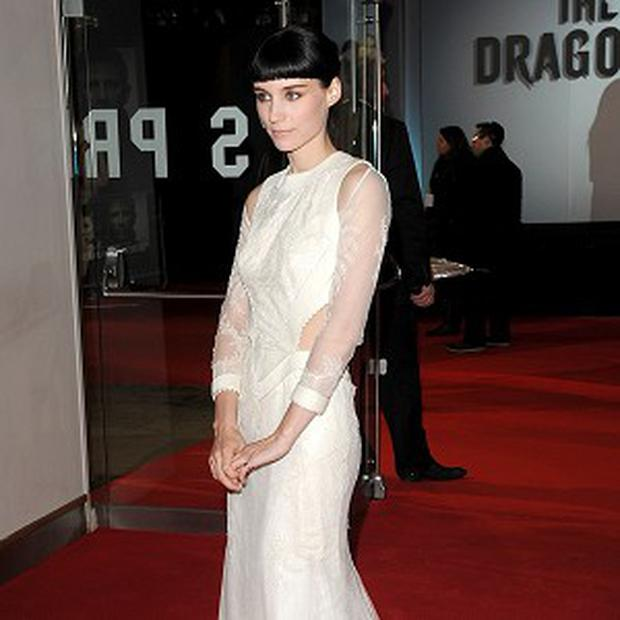 Rooney Mara was shocked to see her new eyebrows