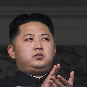 North Korea's news agency has dubbed Kim Jong Un a 'great successor' as the country rallied around him (AP Photo/Vincent Yu)