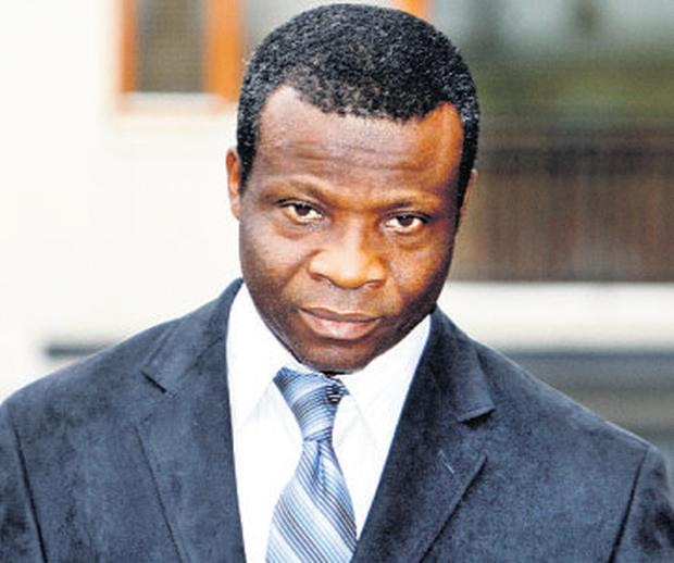 Dr Etop Sampson Akpan, who is facing allegations of professional misconduct over Sharon McEneaney's death in 2009