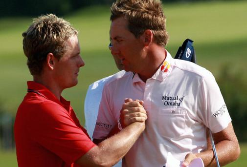 Luke Donald and Ian Poulter. Photo: Getty Images