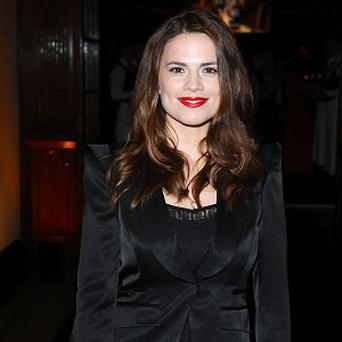 Hayley Atwell has been reunited with Charlotte Rampling