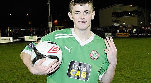In demand: Cliftonville striker Rory Donnelly is being pursued by three Premier League clubs