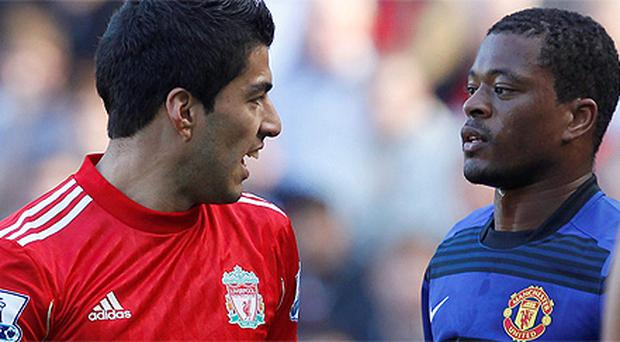 Luis Suarez has been banned for eight games for abusing Patrice Evra
