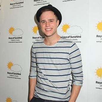 Olly Murs would just like a rest at Christmas