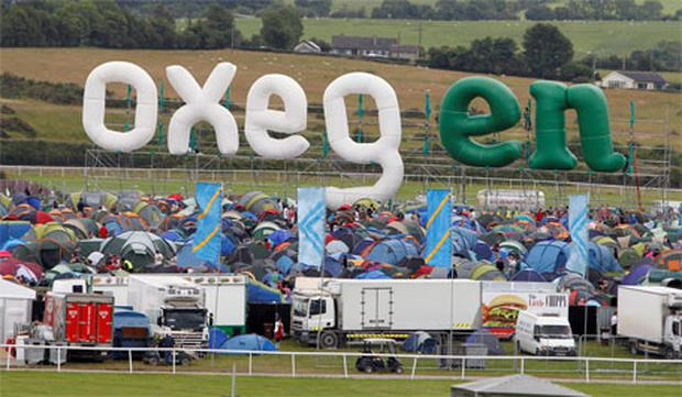 View of Oxegen 2011. Photo: Kyran O'Brien