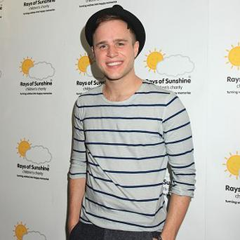 Olly Murs came in joint first position with JLS