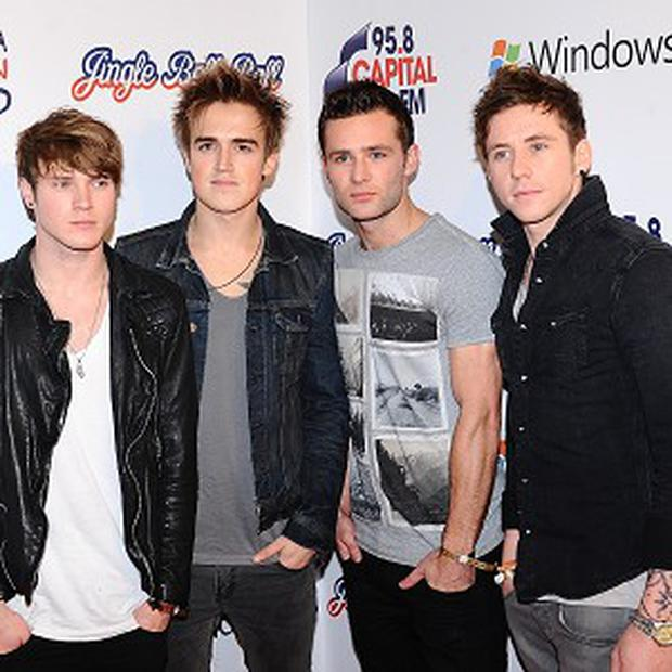 Dougie, Tom, Harry and Danny from McFly.