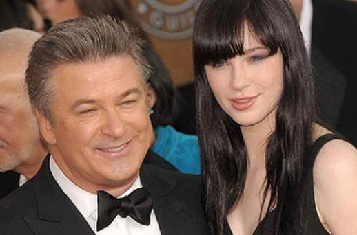 Alec Baldwin and daughter Ireland. Photo: Getty Images