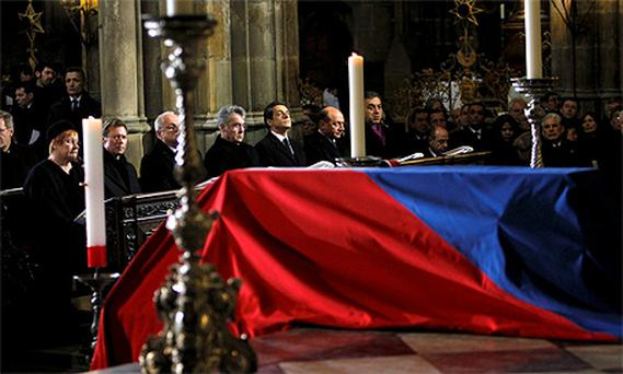 Heads of states and government officials from around the world attended the funeral of late former Czech President Vaclav Havel