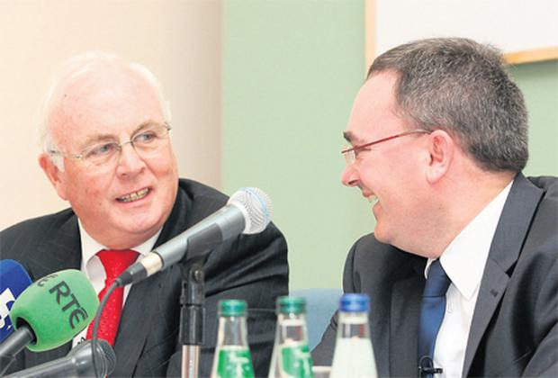 NAMA chairman Frank Daly and chief executive Brendan McDonagh are heading for another busy year in 2012 as the agency which handles toxic loans grapples with the issue of timely but profitable asset disposals