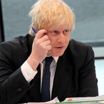 Copies of emails sent to and from Mr Johnson's official City Hall account have been revealed