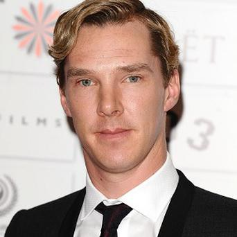 Benedict Cumberbatch provides the voice for Smaug the dragon in The Hobbit