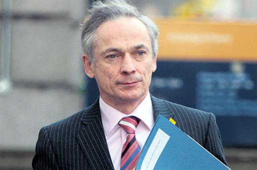 Richard Bruton is finalising a national jobs plan. Photo: Tom Burke