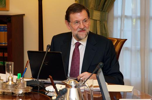 Spain's new Prime Minister Mariano Rajoy. Photo: Getty Images