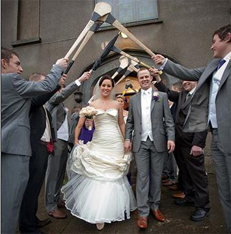 HE has won six All-Irelands, but yesterday Kilkenny star Tommy Walsh bagged his biggest prize as he married long-time girlfriend Marlis Coonan at St Brendan's Church, Muckalee, Co Kilkenny