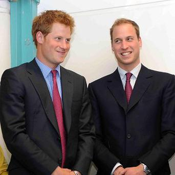 William and Harry topped the list of babies' names in The Times birth announcements this year