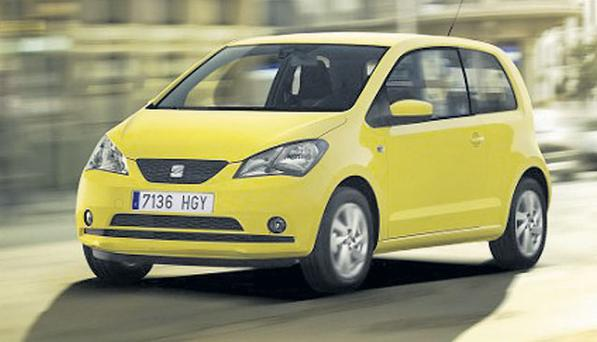 TAKE A SEAT: The Seat Mii replaces the Spanish-based carmaker's Arosa model