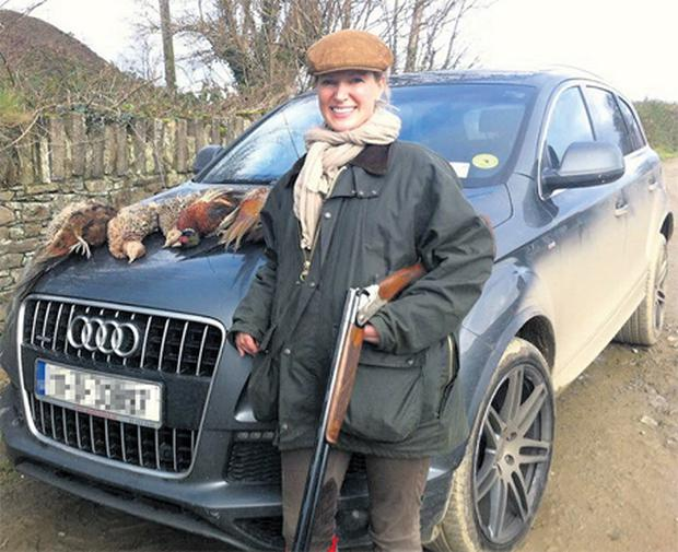 This photograph of celebrity chef Rachel Allen with a shotgun and a number of dead game birds on her car bonnet prompted a storm of criticism after she posted it on Facebook