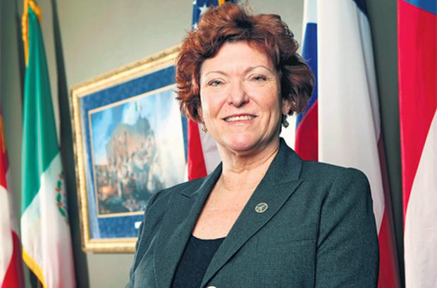 Assistant district attorney Mary Green, who was named 'prosecutor of the year' in Texas