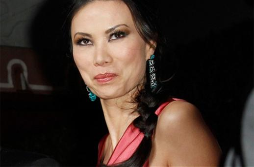 Wendi Deng, the wife of Rupert Murdoch, gets annoyed when people mis-spell her first name Photo: Reuters