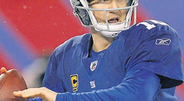 Manning: hugely infuential for Giants