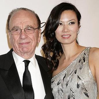 A Twitter account in the name of Rupert Murdoch's wife Wendi Deng has been exposed as a fake