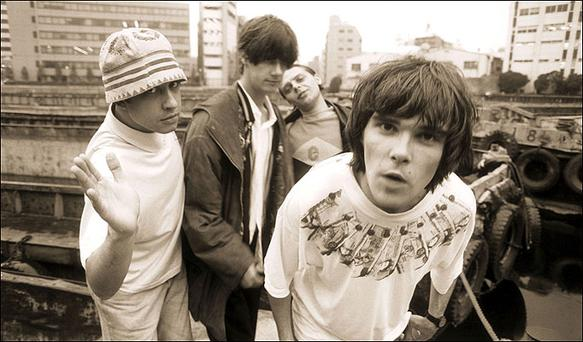 <b>The Stone Roses</b><br/> Comeback gigs of the year will surely be The Stone Roses' reunion shows in Manchester (which sold out in the twinkling of an eye) and Dublin's Phoenix Park . Here's hoping their new-found commercial nous will be matched by an improvement in performance. Perhaps decent monitors this time around? Phoenix Park, 5 July