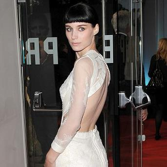 Rooney Mara had to be transformed for her role in The Girl With The Dragon Tattoo