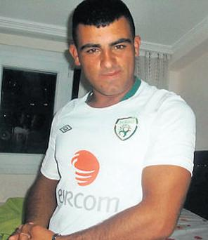 Recep Cetin: claims to be 17 but his age is in dispute