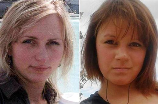 Vitalija Baliutaviciene, left, and Alisa Dmitrijeva both vanished last August. Photo: PA