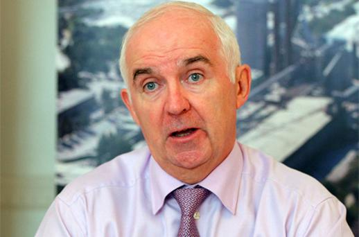 CRH chief executive Myles Lee: 'strategy to add value'