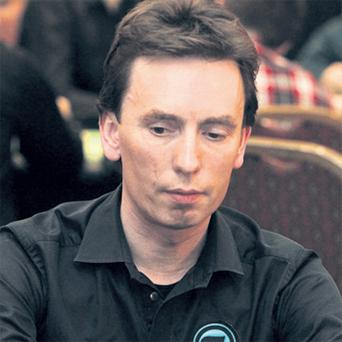 Snooker player Ken Doherty is competing in a €800,000 World Poker Tour event in Dublin