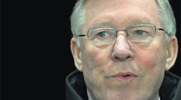 Alex Ferguson: won't panic