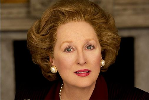 Meryl Streep as Margaret Thatcher in 'The Iron Lady'