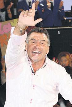 'My Big Fat Gypsy Wedding' and 'Celebrity Big Brother' star Paddy Doherty